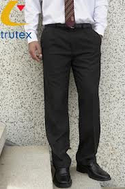 Boys Charcoal Trutex Trouser